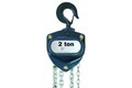 7 1/2 Ton R & M Chain Hoist with Top Hook Mount - 20' Lift