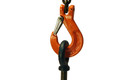 "3/8"" Clevis Sling Hook with Latch - Grade 100"