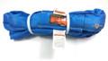 Blue Endless Polyester Round Sling Tubular 8' Long