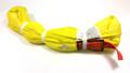 Yellow Endless Polyester Round Sling Tubular 12' Long