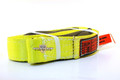 "Slip Resistant Nylon Lifting Sling - Twisted Eye and Eye - 2"" x 10' - 2 Ply"