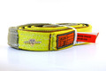 "Slip Resistant Nylon Lifting Sling - Twisted Eye and Eye - 2"" x 8' - 2 Ply"