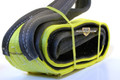 "Slip Resistant Nylon Lifting Sling - Twisted Eye and Eye - 4"" x 6' - 2 Ply"
