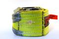 "Slip Resistant Nylon Lifting Sling - Twisted Eye and Eye - 4"" x 8' - 2 Ply"