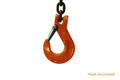 Cartec 5/8 Sling Hook Latch Kit Grade 80 - Hook Not Included