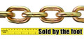 "5/8"" Weight Lifting Chain - By The Foot - Powerlifting - Crossfit"