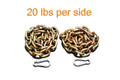 Weight Lifting Chain - 40 lbs - Powerlifting - Crossfit