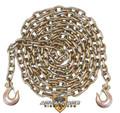 """3/8"""" - Grade 70 Binder Chain - Slip Hooks - 20' Length"""