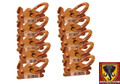E-Track Steel O Ring Tie Down Anchor 10 Pack