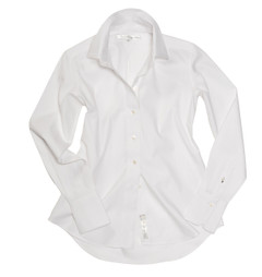 The GWS, No. 1 is our original, classic front version of that perfect, fitted white shirt.