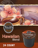 Like a well-deserved vacation, this variety holds a special place in our imagination. Maybe it's the mild sweetness and elegant simplicity. Or maybe it's because some of the best coffee we've ever tasted has been on an island, surrounded by tropical breezes. Either way, our Hawaiian Blend is a place we want to be. Contains 10% Hawaiian coffee and other fine Arabica beans.