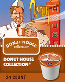 Donut House® Coffee feels familiar from the very first sip. It's the easy-going, bold, dependable cup you enjoy every day.
