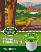 Vermont Country Blend is a mixture of light and dark beans. The result is coffee that is sweet, rich and aromatic, with a pleasant lingering finish. This coffee is one of our most popular blends.