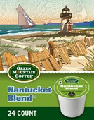 Our Nantucket Blend weaves exotic and delicious coffee attributes together - winey, berry tones from Africa, full body from Indonesia and zesty and bright flavors from the Americas.