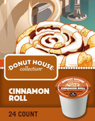 Donut House Collection® Cinnamon Roll has the flavor and aroma of sweet, fresh-baked cinnamon rolls, still warm from the oven. Dig in.