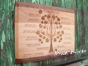 GAP1013 Laser Engraved Family Tree