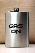 8 oz. Flask with Custom Engraving