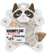 Grump Cat Plush Window Cling