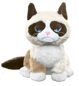 Grumpy Cat Sitting Plush
