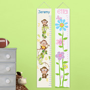 Personalized Kids' Height Chart Canvases
