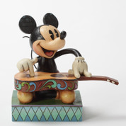 Mickey with guitar