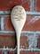 Cute Custom Laser Engraved Wooden Spoon