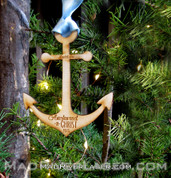 Anchor Custom Ornament