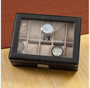 Personalized Men's Leather Watch Case GC1082