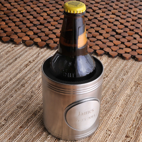 Personalized Koozie with Medallion GC834