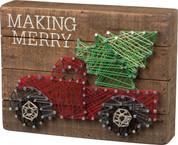 String Art - Making Merry
