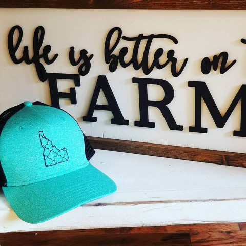 Idaho Baseball Cap, Idaho Hat