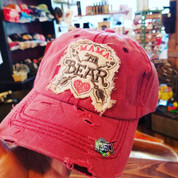 Mama Bear Heart Arrows Cap