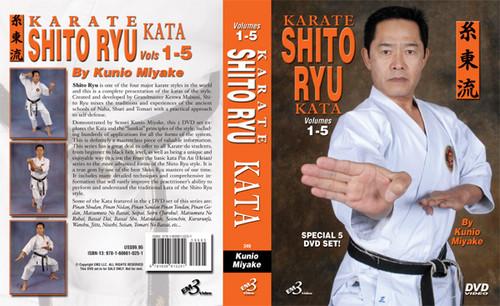 Karate Shito Ryu Kata DVD Set Vol-1-5