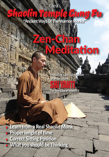 China's Ancient Forms of the Shaolin Gung Fu Zen-Chan - Meditation