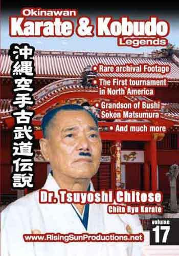 Dr. Tsuyoshi Chitose Chito Ryu Karate#17 OKKL(DVD download)