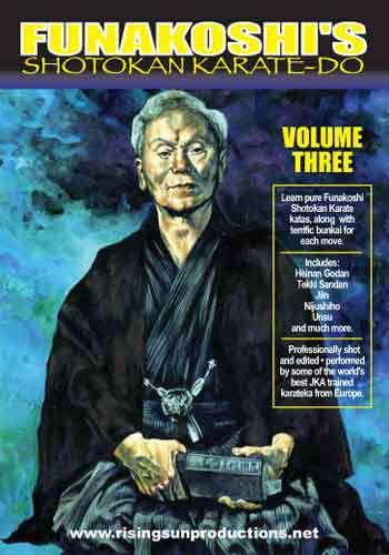Funakoshi Shotokan Karate #3(DVD Download)