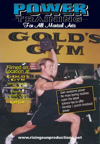 Power Training For Martial Arts