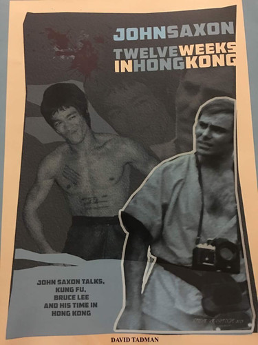 Bruce Lee Poster Magazine BL- #DT-1 Exclusive Interview with John Saxon