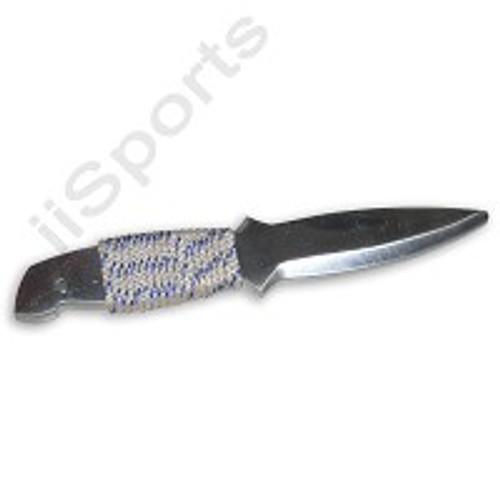 Aluminum Practice Dull Single Edge Knife 8 Inch