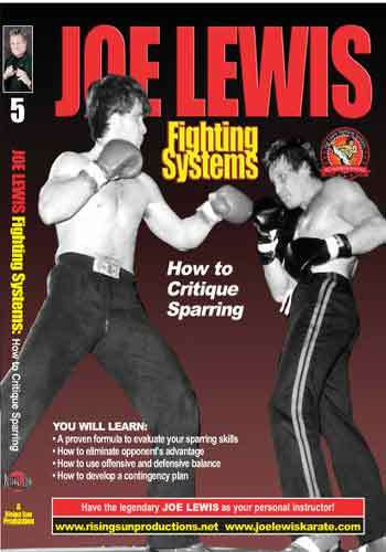 Joe Lewis - How to Critique Sparring(video download)