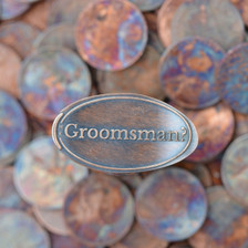 Pressed Copper Penny - Groomsman?