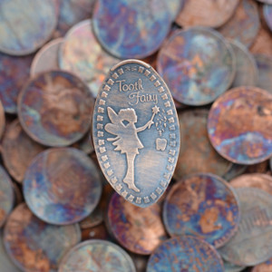 Pressed Copper Penny - Tooth Fairy Gift