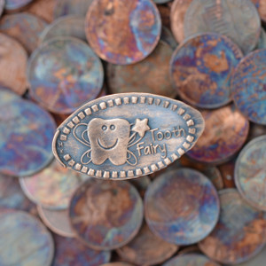 Pressed Copper Penny - Tooth Fairy - Unique Gift