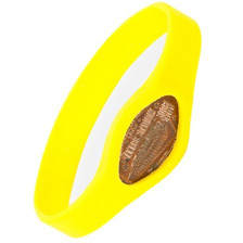 Pennybandz Yellow Bracelet, Penny Bands, Penny Bandz, Copper Penny, Pressed Penny, Custom Pressed Penny, Custom Penny