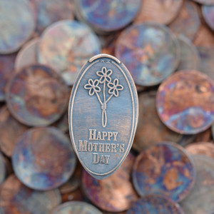 Pressed Copper Penny - Happy Mothers Day