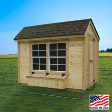 Chicken Coop - 5' x 8' | EZ Fit Sheds, Winesburg Ohio