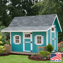 Classic Playhouse 8 x 10 by EZ Fit Sheds, Wilmot Ohio