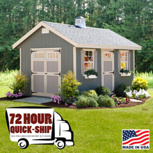 10' x 14' Quick Ship Riverside Shed Kit