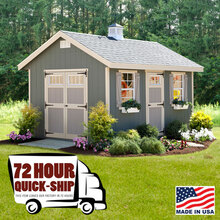 10 x 14' Quick Ship Riverside Shed Kit