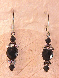 Simply Black — Earrings